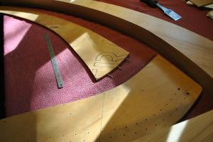gabarit harpe celtique