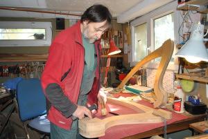 Marin LHOPITEAU harpe celtique